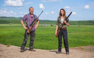 Quickshooter vapenrem för hagel och kula