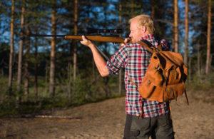 Quickshooter går att använda trots bärandet av ryggsäck.